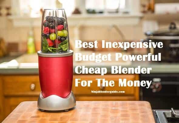 best cheap blender