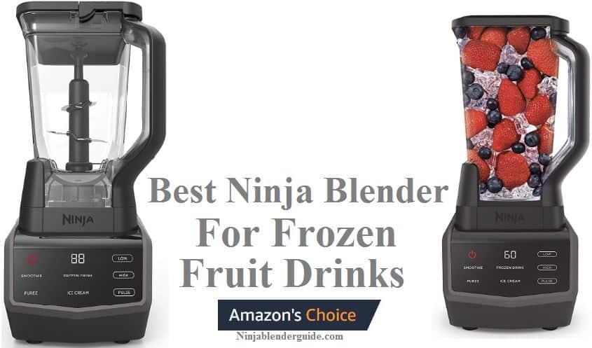 Best Ninja Blender for Frozen Fruit Drinks